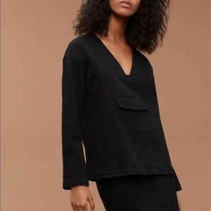 Aritzia Wilfred free BARONIT BLOUSE